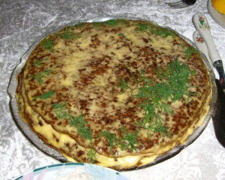 Печінковій торт