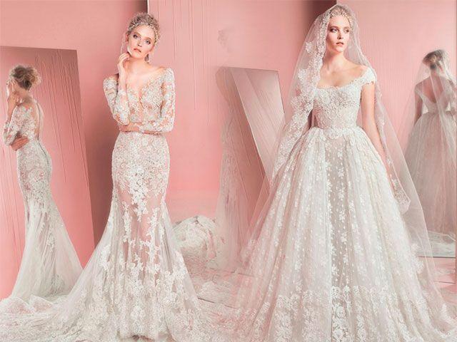 Сукня весільна з мереживом