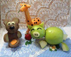 Вироби з овочів для дитячого саду своїми руками: створення дитячих виробів з овочів в фотографіях і відео сюжетах з покроковою інструкцією з виготовлення овечок з цвітної капусти