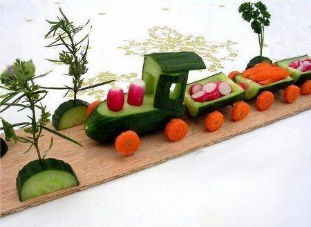 Вироби з овочів і фруктів: варіанти виробів з осіннього врожаю з використанням природних матеріалів з фотографіями і відео сюжетами