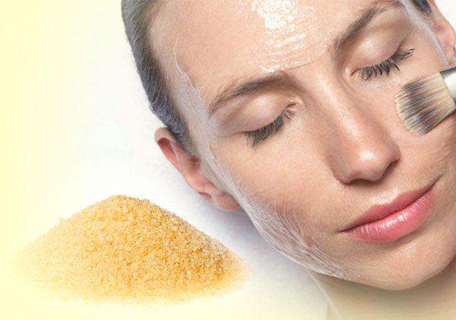 Підтягує маска для обличчя з желатину рецепт