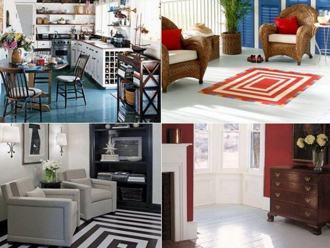 Фарбування підлоги - недороге і раціональне рішення