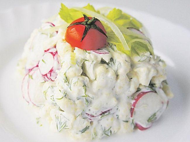 Корисний салат зі свіжих овочів за 10 хвилин
