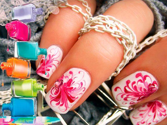 Малюнки на нігтях голкою - як малювати на нігтях голкою?