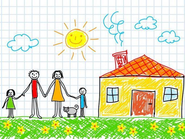 Малюнок сім`ї - придивляємося до деталей