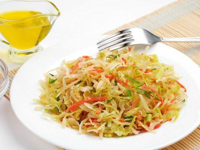Салат «дамський» - низькокалорійний і корисний сніданок