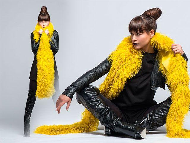 Шарфи 2016 модні фото новинки
