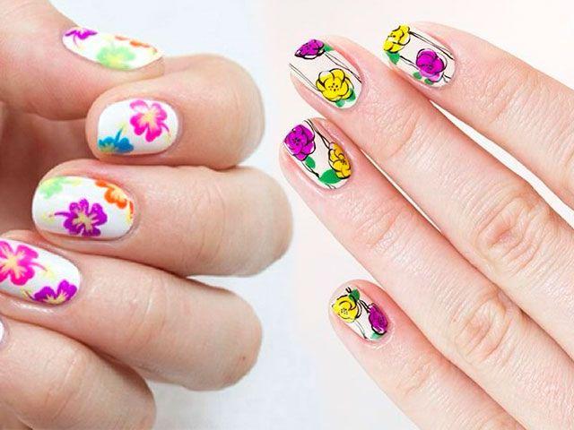 Шелак фото нігтів з малюнками на короткі нігті