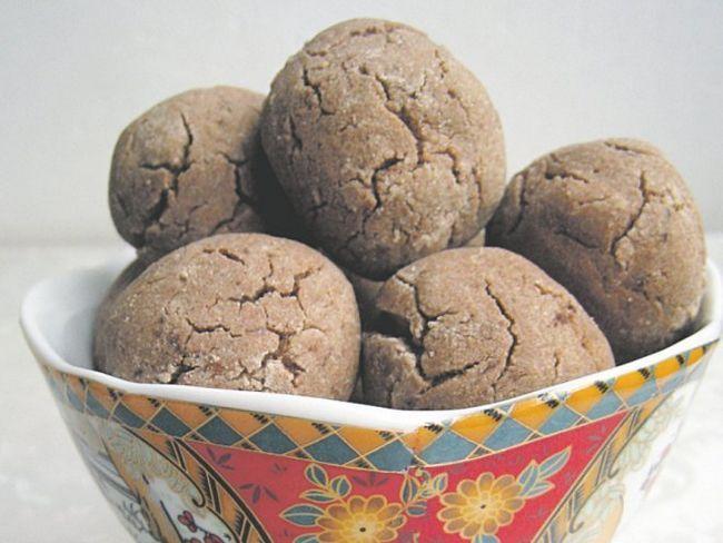 Шоколадно-гречане печиво - апетитний десерт з дієтичної борошна