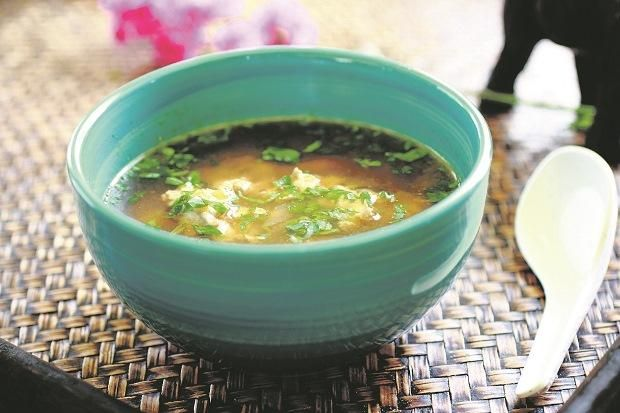 Зігріваючий курячий суп