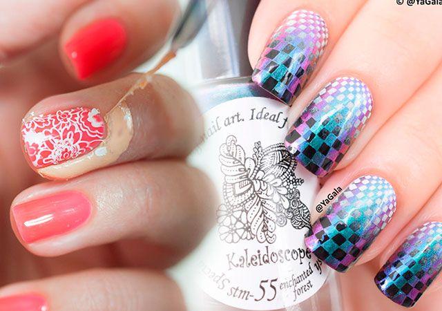 Стемпинг для нігтів - дизайн стемпинг гель лаком