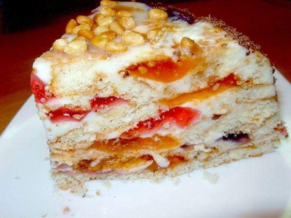 Торт «скло»