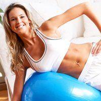 Вправи на м`ячі для схуднення живота і боків