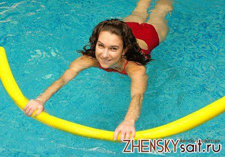 вправи в басейні для схуднення