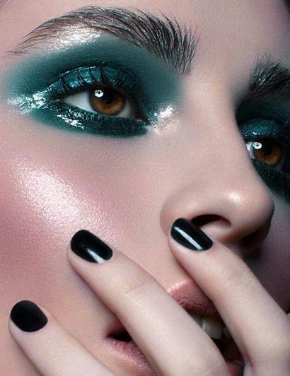 вологий макіяж
