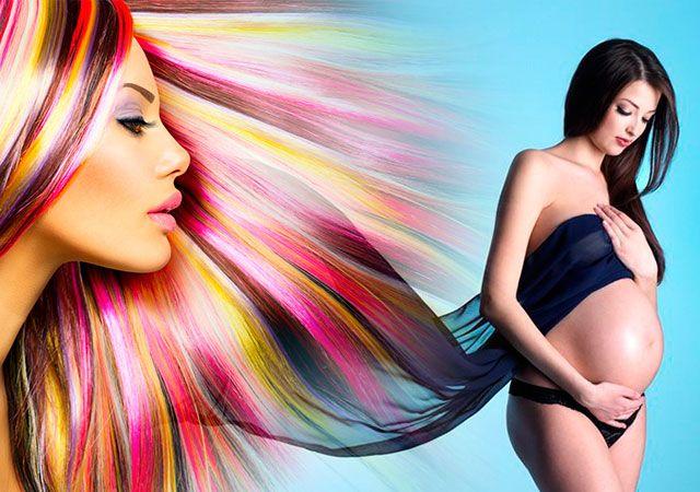 Під час вагітності можна фарбувати волосся