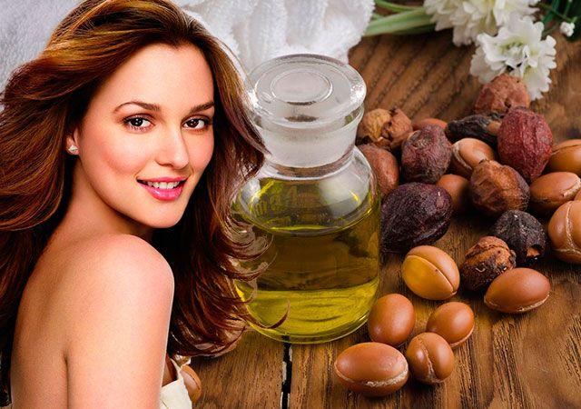 Чарівне масло для волосся арганова масло