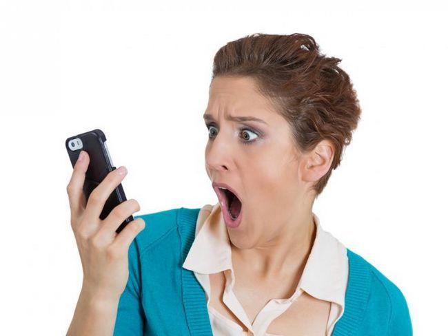 Шкода мобільних телефонів