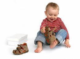 Вибір дитячого взуття