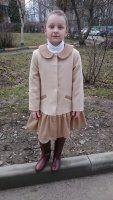 Форма пальто для дівчинки: весняне оновлення гардероба маленької принцеси і докладний майстер-клас з побудови викрійки основи дитячого пальто з фото-інструкцією