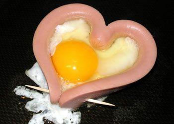 Сніданок для коханого. Яєчня