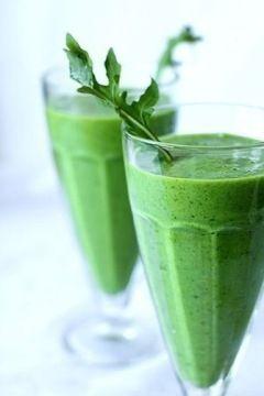 Зелені коктейлі - заряджаємося вітамінами